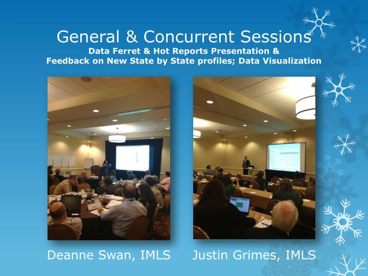General & Concurrent Sessions