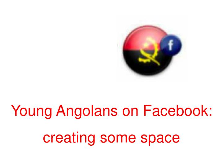 Young Angolans on Facebook: