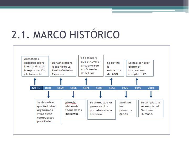 2.1. MARCO HISTÓRICO