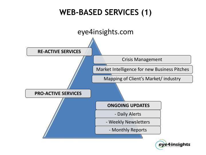 WEB-BASED SERVICES (1)