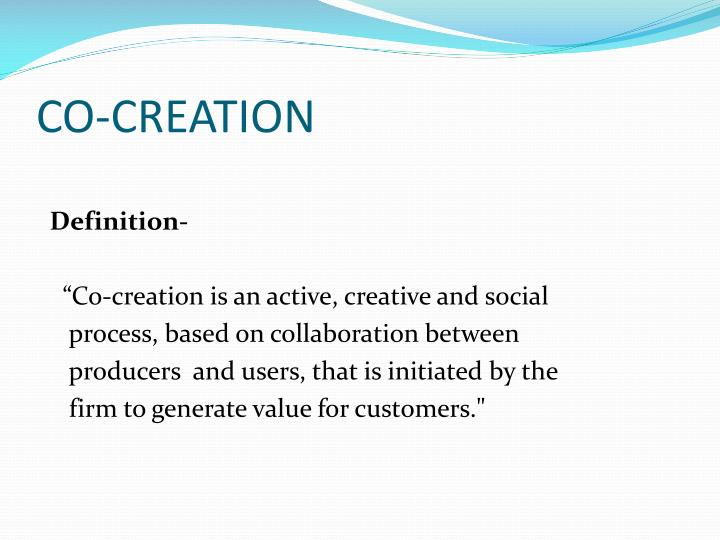 Co creation1