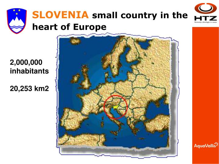 Slovenia small country i n the heart of europe