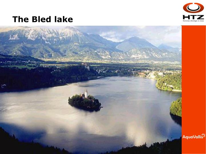 The Bled lake
