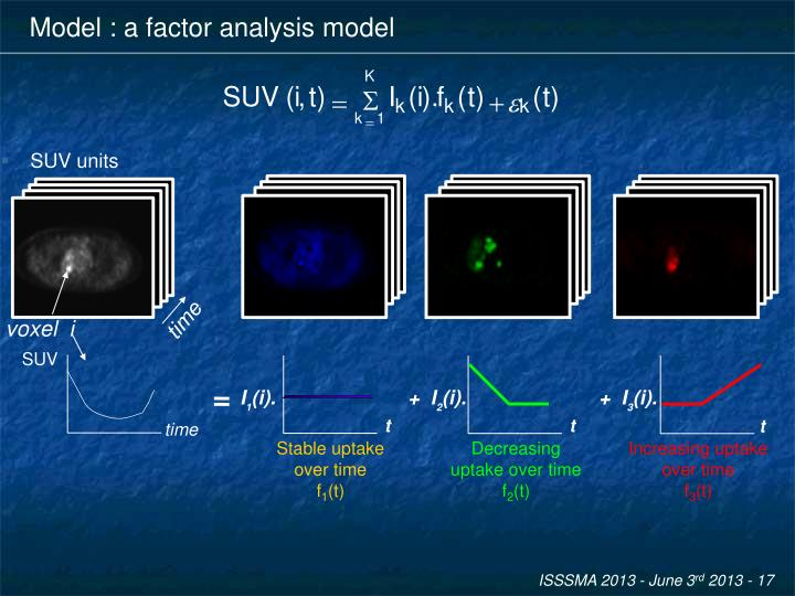 Model : a factor analysis model