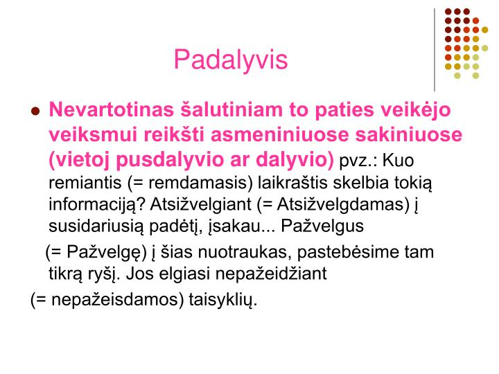 Padalyvis