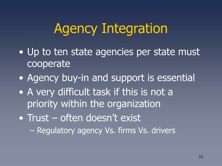 Agency Integration