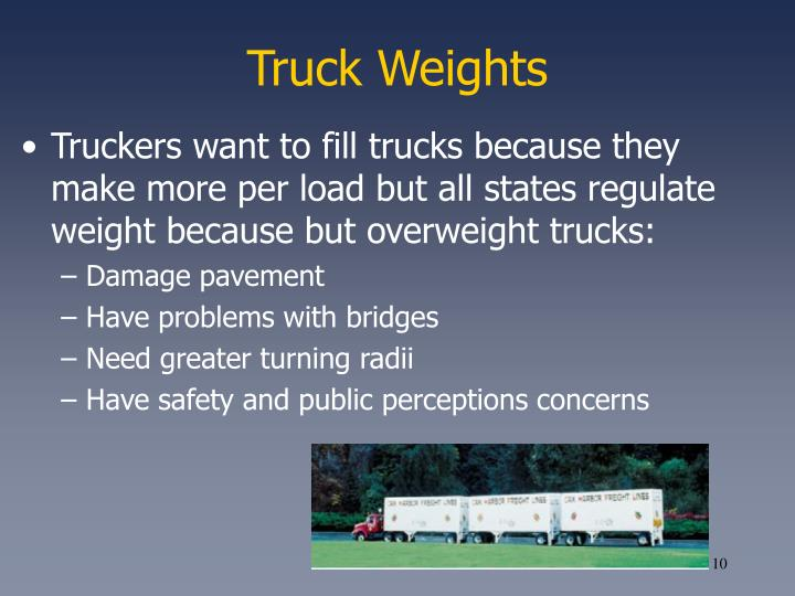 Truck Weights