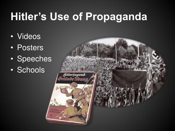 Hitler's Use of Propaganda