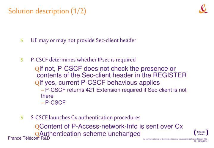 Solution description (1/2)