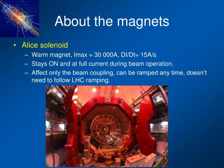 About the magnets