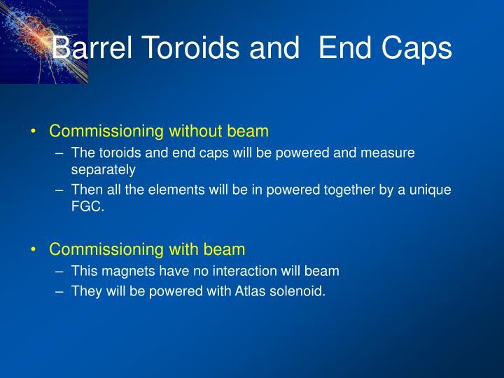 Barrel Toroids and  End Caps