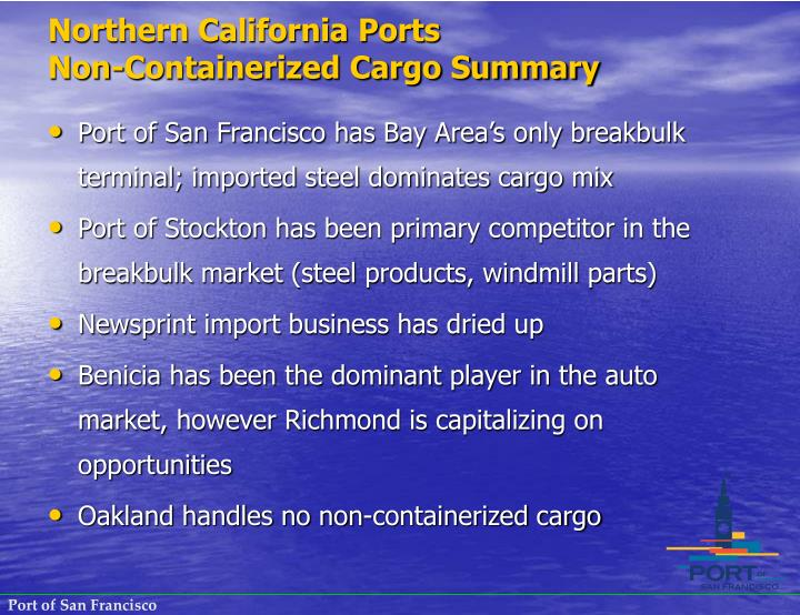Northern California Ports