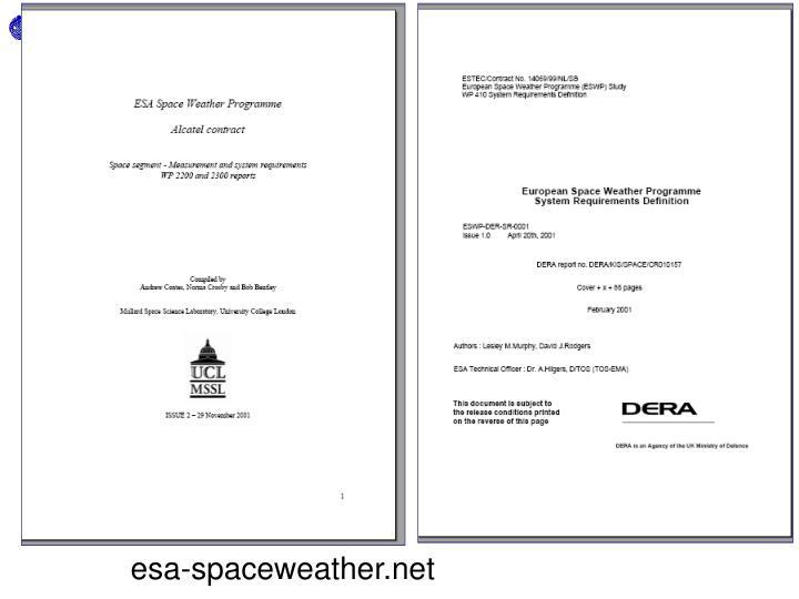 esa-spaceweather.net