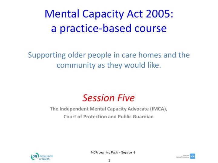 resource based course package for community mental Education and training materials human resource development and training are key areas in the a mental health training programme for community health.