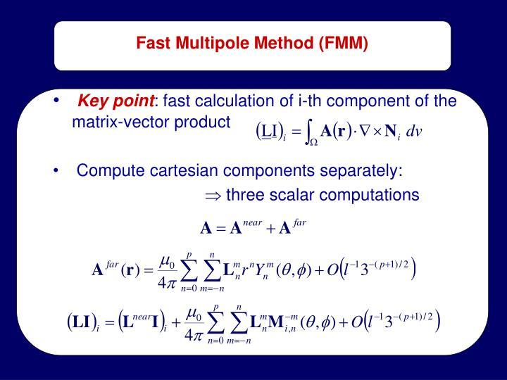 Fast Multipole Method (FMM)