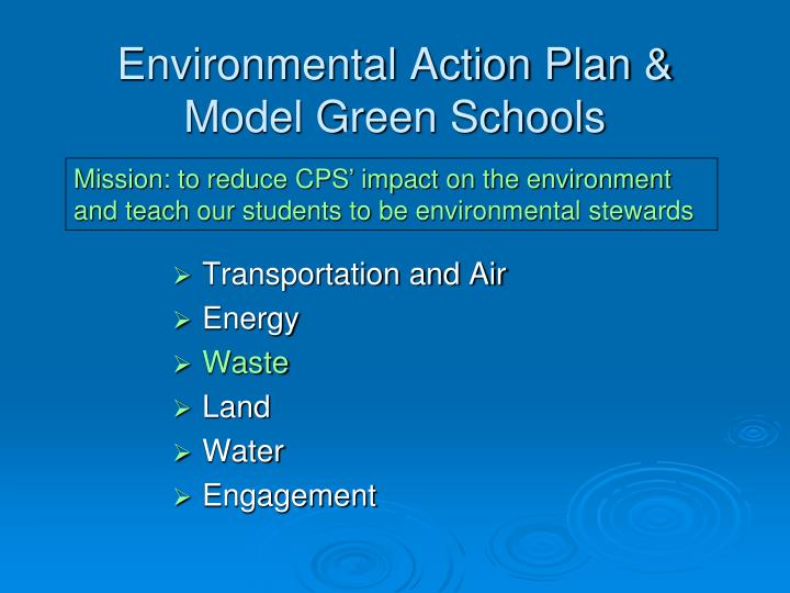 Environmental Action Plan &