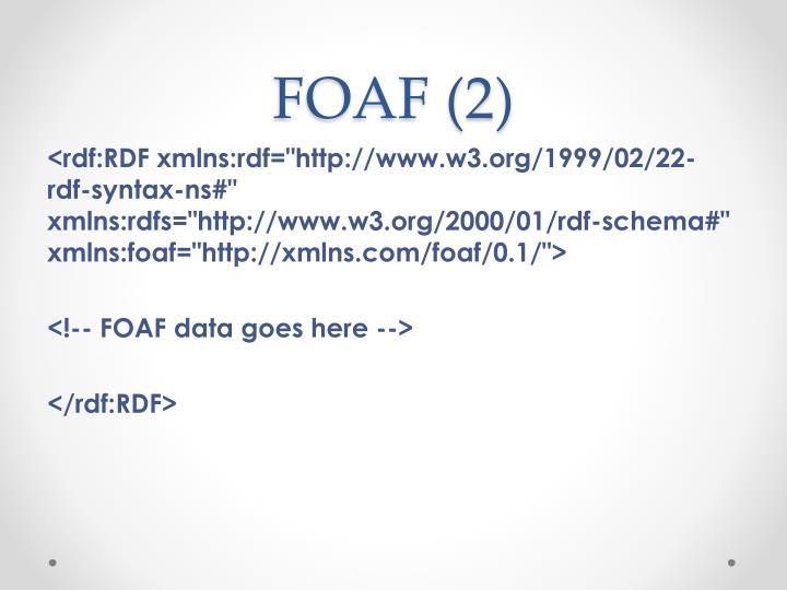 FOAF (2)