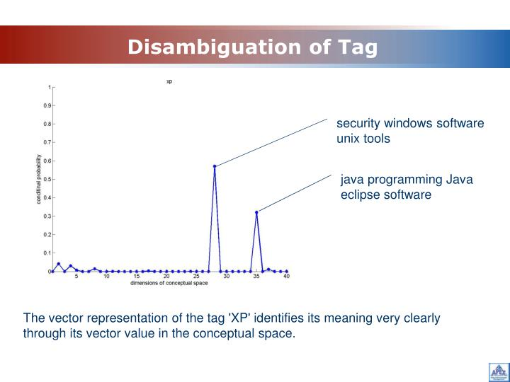 Disambiguation of Tag