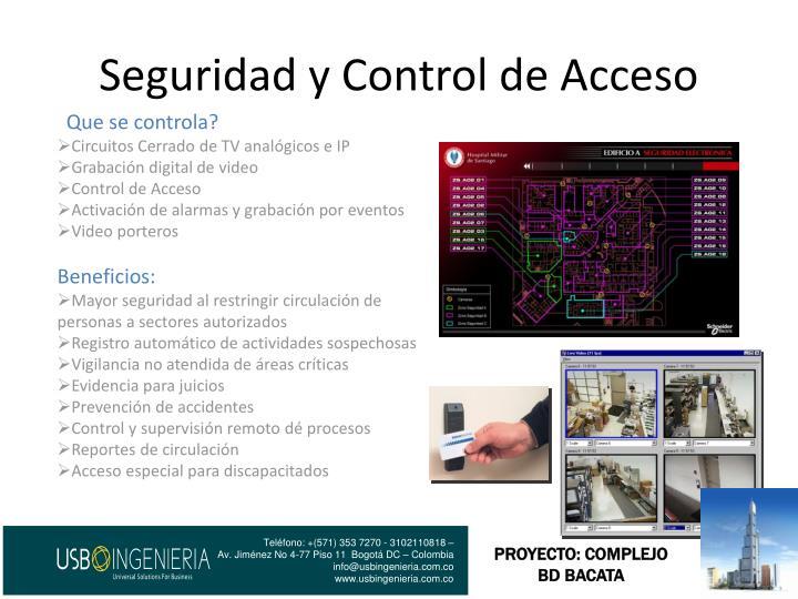 Seguridad y Control de Acceso