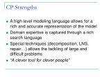 cp strengths