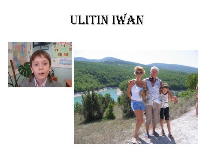 Ulitin