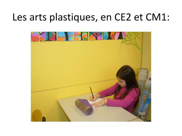 Les arts plastiques, en CE2 et CM1: