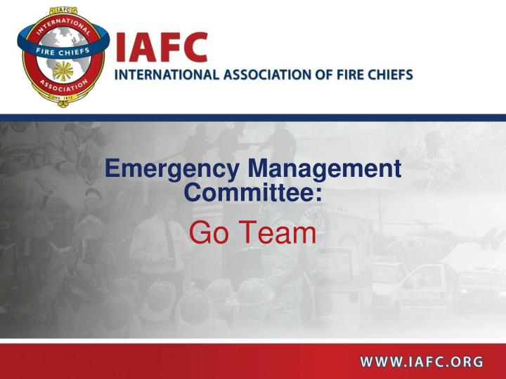 Emergency management committee