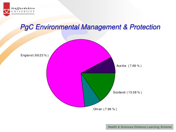 PgC Environmental Management & Protection