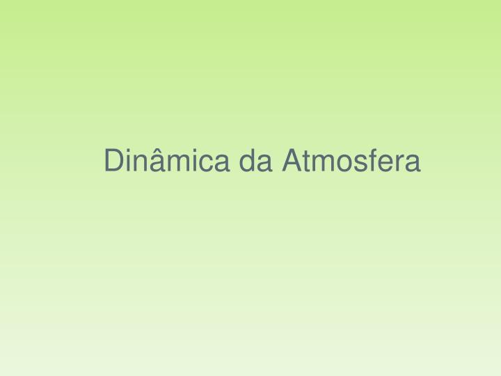 Dinâmica da Atmosfera