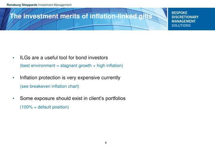 The investment merits of inflation-linked gilts