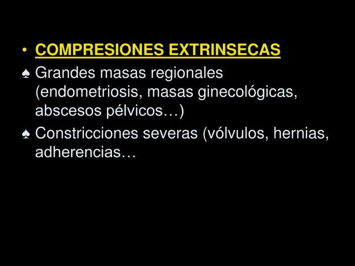 COMPRESIONES EXTRINSECAS