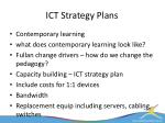 ict strategy plans