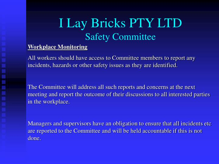 I Lay Bricks PTY LTD