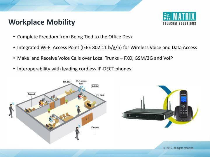 Workplace Mobility