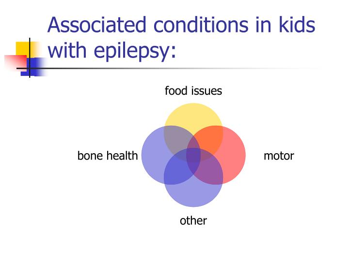 Associated conditions in kids with epilepsy: