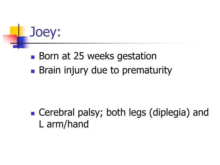 Joey: