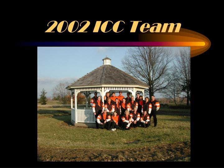 2002 ICC Team