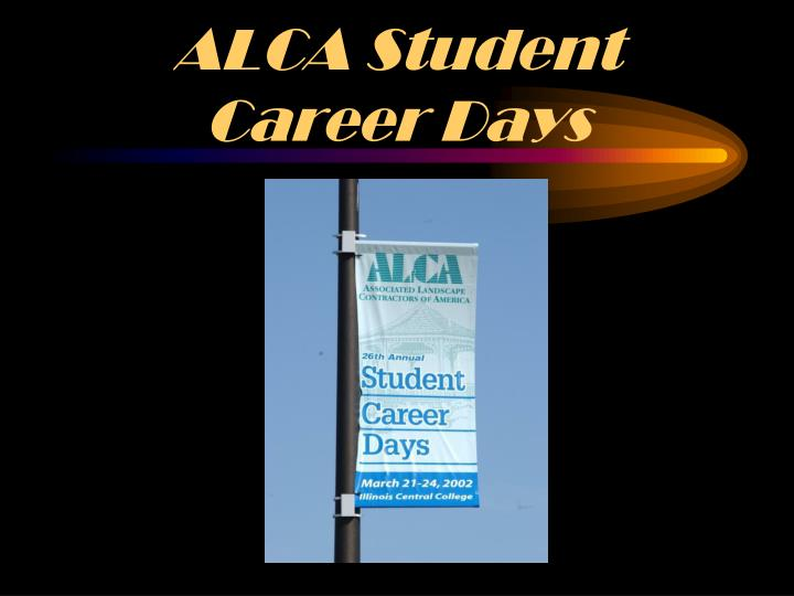 ALCA Student Career Days