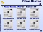 filtros b sicos ix