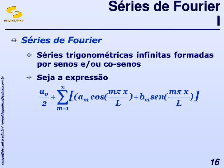 Séries de Fourier I