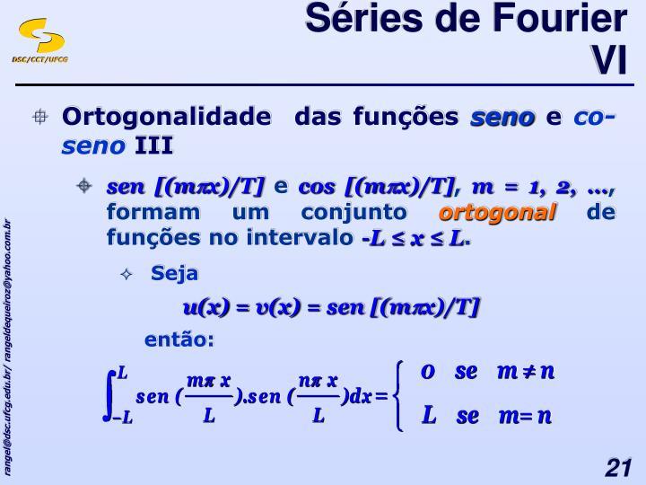 Séries de Fourier VI