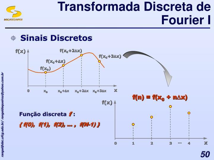 Transformada Discreta de Fourier I