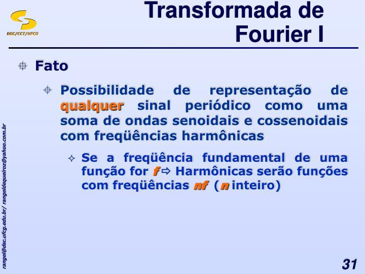Transformada de Fourier I