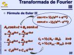 transformada de fourier iii