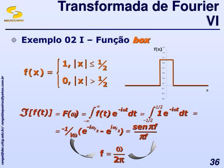 Transformada de Fourier VI