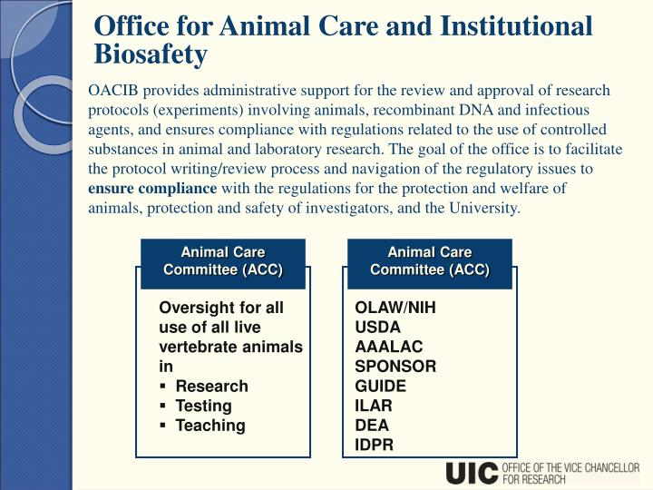 Animal Care Committee (ACC)
