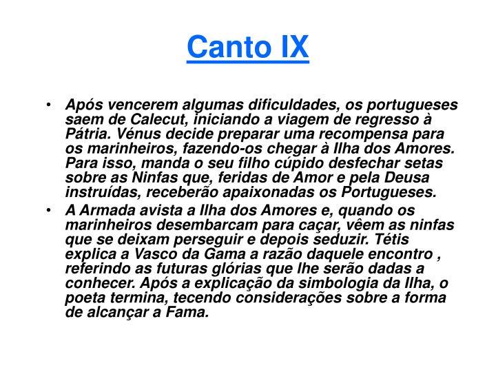 Canto IX