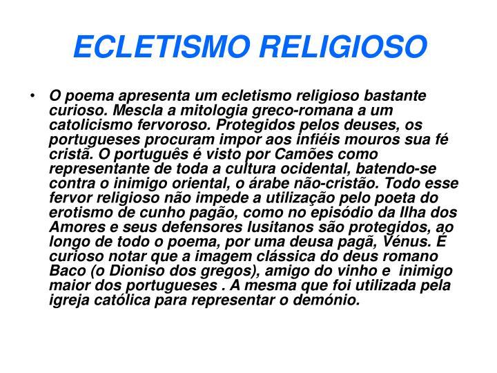 ECLETISMO RELIGIOSO