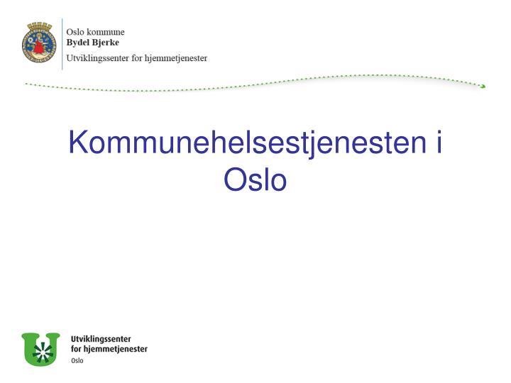 Kommunehelsestjenesten i Oslo