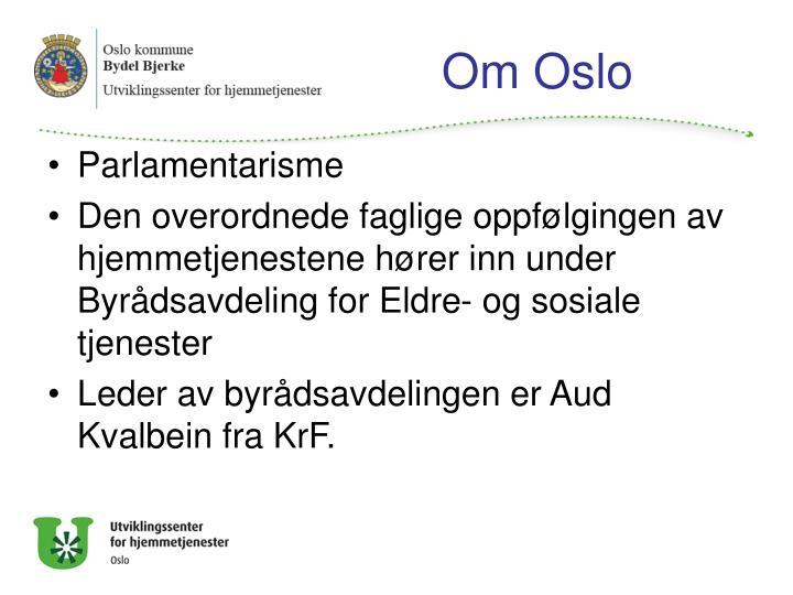 Om Oslo